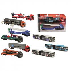 Autobus nebo nákladné auto, kovové