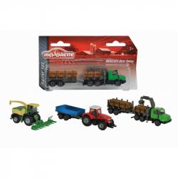 Farmárske vozidlo kovové Farm Set, 3 druhy
