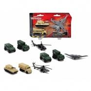 Air Strike vojenská technika set, 4 druhy