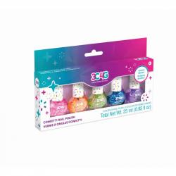 Set lakov na nechty konfety