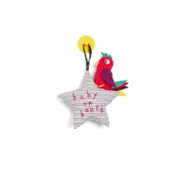 Hviezdička s vtáčikom do auta Baby on Board