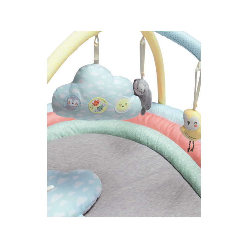 Hrací deka s hrazdou a hudebním mráčkem