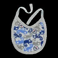 Bryndáček bavlna Chameleon, modrý/šedá