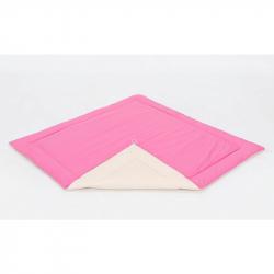 Podložka do stanu pro děti teepee, týpí - béžový / tmavě růžový