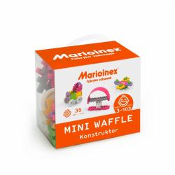 Marioinex MINI WAFLE – 35 ks Konštruktér (dievčatá)