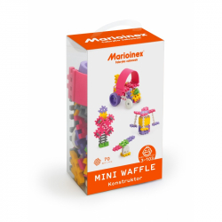 Marioinex MINI WAFLE – 70 ks Konštruktér (dievčatá)