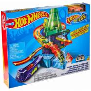 Hot Wheels dráha Stříkající laboratoř