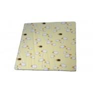 Molitanová matrace do ohrádky Puppolina 120x120cm