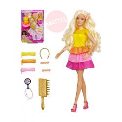 Barbie BÁBIKA S VLNITÝMI VLASMI