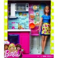 Barbie bábika a nábytok