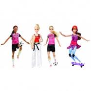 BARBIE Sportowe lalki MATTEL