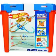 Hot Wheels track builder box plný trikov