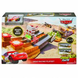 Cars XRS závod dragsterov herný set