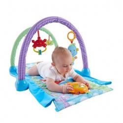 Fisher Price hrací dečka a tunel 2v1