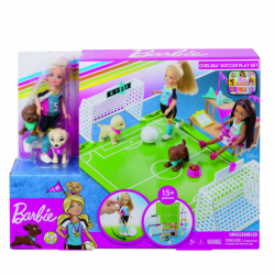Barbie Chelsea futbalistka herný set