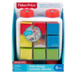 Fisher Price vozík s kockami