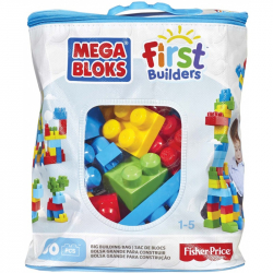 Mega Bloks First Builders Bag Boys 60 sztuk
