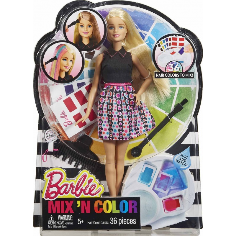 Barbie BAREVNÝ ÚČES