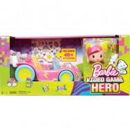 Barbie w Świecie Gier Pojazd i minifigurki