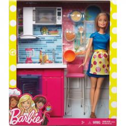 Barbie BÁBIKA A NÁBYTOK ASST