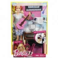 Barbie muzikantka blondýnka