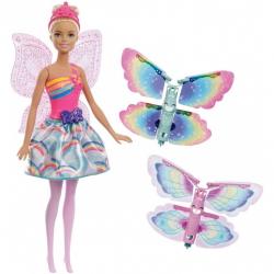 Barbie. Lalka wróżka z latającymi skrzydełkami