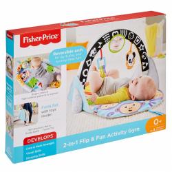 Fisher Price - Przenośna mata sensoryczna 2w1 FXC14