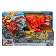 Hot Wheels City - Zestaw Atak T-Rexa