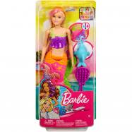Lalka Barbie zaczarowana syrena