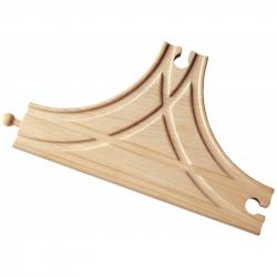 Dřevěné vláčkodráhy Maxim - T-výhybka
