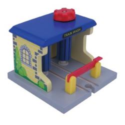 Dřevěné vláčkodráhy Maxim - Vlaková myčka