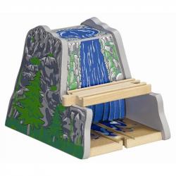 Dřevěné vláčkodráhy Maxim - Tunel s vodopádem