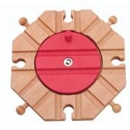 Dřevěné vláčkodráhy Maxim - Točna s 8mi výjezdy