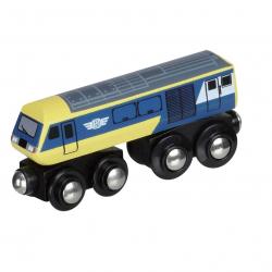 Duża nowoczesna lokomotywa
