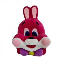 Dětské křesílko růžový Zajíc
