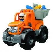 Mega Bloks náklaďák 2v1 modrý
