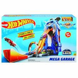 Hot Wheels city garáž so závodnou dráhou
