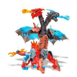 Mega Bloks dvouhlavý drak