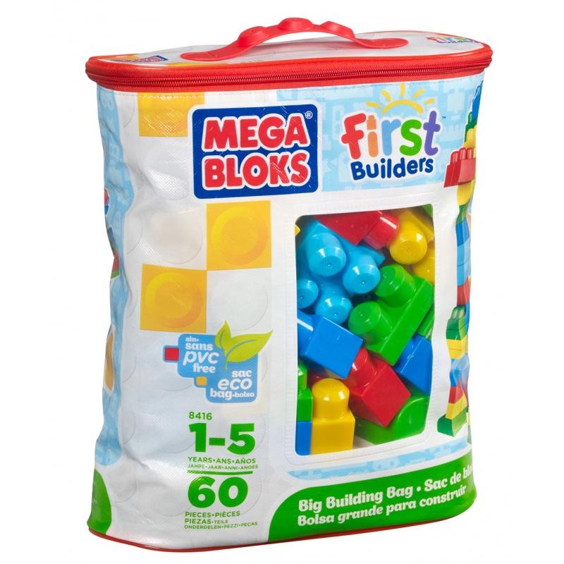 Kostky v plastovém pytli, 60 dílů