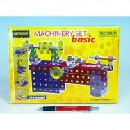 Stavebnica MERKUR Machinery set Basic 10 modelov v krabici 25,5x18x2cm