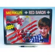 Stavebnice MERKUR Red Baron 40 modelů 680 ks