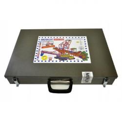 Stavebnica MERKUR Maxi Banské bager 2627ks v kufri 54x37x10cm