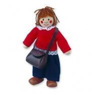 Dřevěné hračky - Panenka do domečku maminka