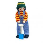 Dřevěné hračky - Panenka do domečku kluk