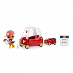 LOL Surprise Cozy Coupe & MC Swag