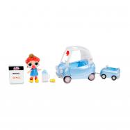 Figurka L.O.L. Surprise Mebelki z lalką - podróż samochodem