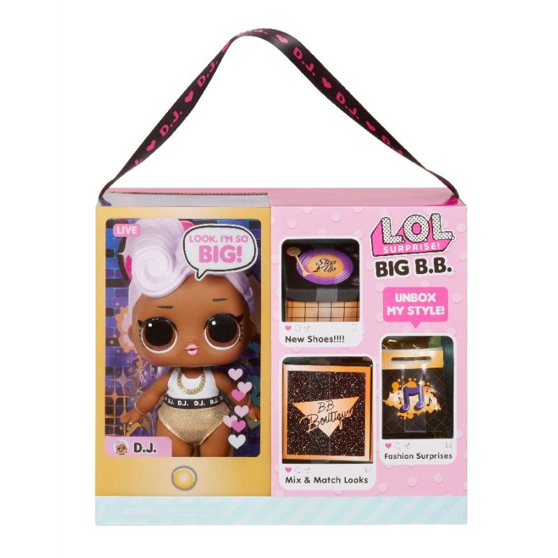 L.O.L. Surprise! Velká panenka - D.J.
