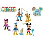 Mickey Mouse Club House figurky kloubové 8cm 5ks s doplňky v krabičce