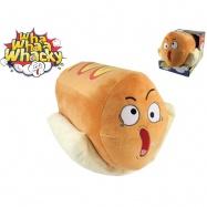 Wha Whaa Whacky Hot Dog 28cm plyšový na baterie se zvukem 0m+ v krabičce