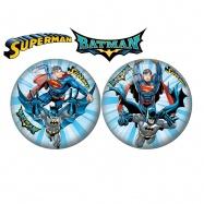 Míč 23cm Batman a Superman 10m+ v síťce